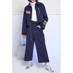 Chains Corduroy Straight Pants deal