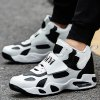 cheap Two Tone High Top Sneakers