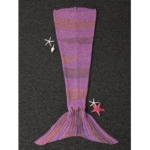 Chic Quality Mermaid Design Blanket For Kids