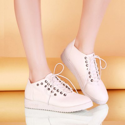 Rivet Design Sneakers For Women