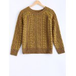 Vintage Twist Color Mixture Sweater