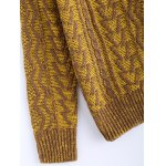 best Vintage Twist Color Mixture Sweater