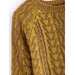 Vintage Twist Color Mixture Sweater deal