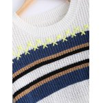 Trendy Hit Color Striped Sweater deal