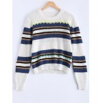 Trendy Hit Color Striped Sweater