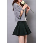 Beaded Candy Color Lantern Sleeve Cardigan deal