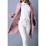 Flower Embroidered Long Sleeve Long Cardigan deal