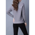 cheap 3D Crown Long Sleeve Sweater
