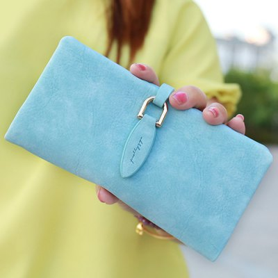 PU Leather Design Wallet For Women