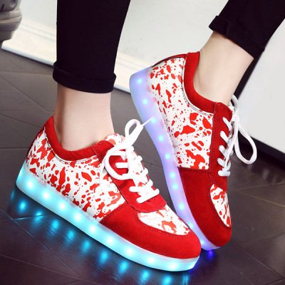 Lighted Design Sneakers For Women