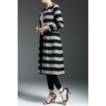 Striped Long Cardigan for sale