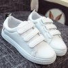 Leisure PU Leather and Letter Pattern Design Athletic Shoes For Women photo