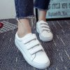 cheap Leisure PU Leather and Letter Pattern Design Athletic Shoes For Women