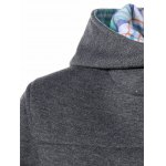 Colorful Button Pocket Hooded Coat deal
