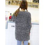 Trendy Color Block Spliced Loose-Fitting Women's Sweater photo