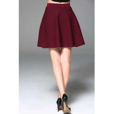 Stretchy Flare Skirt