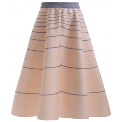 Fashion High Waisted Striola Skirt For Women