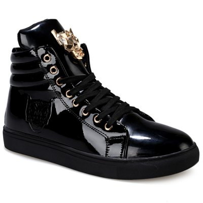 High Top Design Casual Shoes For Men