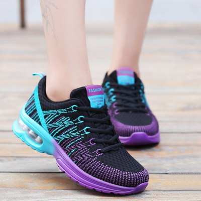 Air Cushion Design Athletic Shoes For Women