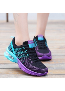 Trendy Multicolour and Air Cushion Design Athletic Shoes For Women
