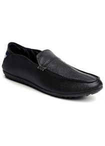Laconic Stitching and PU Leather Design Loafers For Men