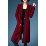Long Sleeve Straight Cardigan