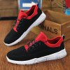 Fashionable Splicing and Tie Up Design Casual Shoes For Men deal