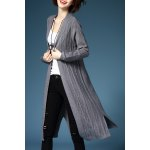 Collarless Straight Cardigan deal