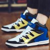 cheap Stylish High Top and Colour Block Design Athletic Shoes For Men