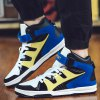 Stylish High Top and Colour Block Design Athletic Shoes For Men deal