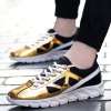 cheap Trendy Color Block and Splice Design Athletic Shoes For Men