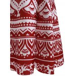 Fashion Printed High Waisted Skirt For Women for sale