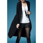 Open Front Knitted Longline Cardigan deal