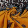 Stylish Leopard Paisley Tassel Scarf photo
