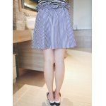 Plus Size Sweet Tie-Front Striped Skirt deal