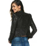 best Chic Pure Color Zipped Jacket For Women