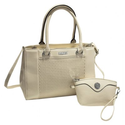 Elegant Weaving and PU Leather Design Totes For Women