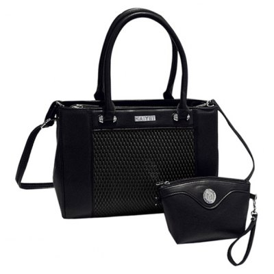 PU Leather Design Tote Bag For Women