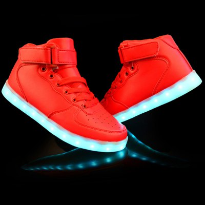 Lights Up Led Luminous Design Casual Shoes For Men