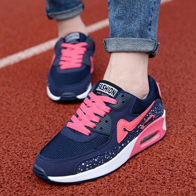 Tie Up Design Athletic Shoes For Women