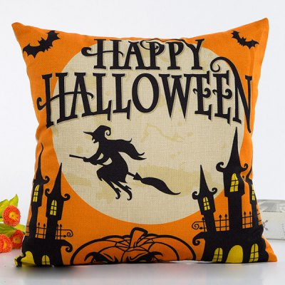 Halloween Series Decorative Throw Pillow Cover