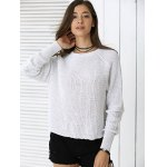 cheap Fashionable Pure Color Sweater