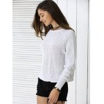 Fashionable Pure Color Sweater deal