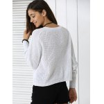 Fashionable Pure Color Sweater for sale