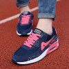 Fashionable Breathable and Tie Up Design Athletic Shoes For Women