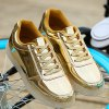 Trendy Lights Up Led Luminous and Metal Color Design Casual Shoes For Men for sale
