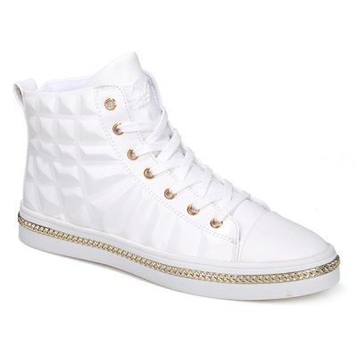 Chains High Top Sneakers