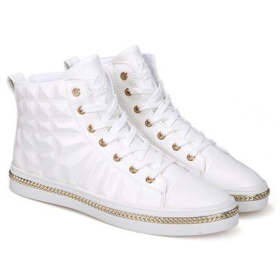 Chains Embossed Sneakers
