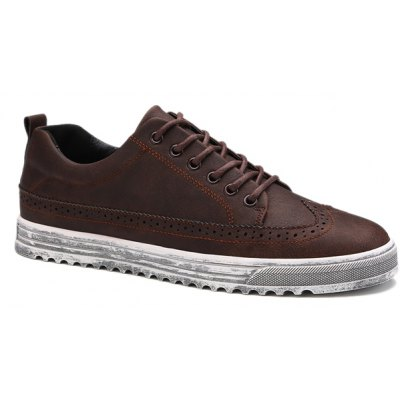 Lace-Up Design Casual Shoes For Men