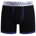 Cherlamode (Three Color) 3PCS U Pouch Design Band Boxer Shorts For Men for sale